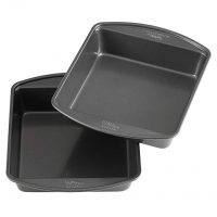 Wilton Non-Stick 8-Inch Square Cake Pans (Set of 2)