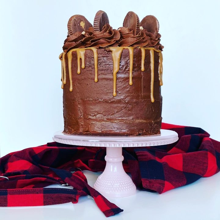 REESE'S Delight Chocolate & Peanut Butter Cake