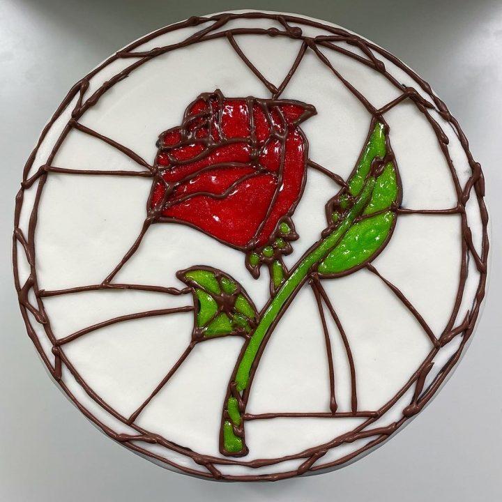 Stained Glass Cake